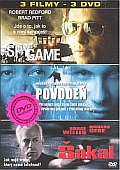 3DVD Spy Game + Povodeň + Šakal