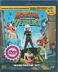 Monstra versus vetřelci [Blu-ray] 3D + 4ks 3D brýle (Monsters vs. Aliens + BOB's 3D)