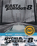 Rychle a zběsile 8 2disk [Blu-ray] + dvd - steelbook (Fate of the Furious)