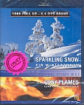 Sparkling Snow / Cosy Flames [Blu-ray]