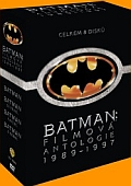 Batman Antologie 8DVD (1989-1997) (Batman Antology) - DOVOZ