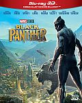 Black Panther 3D+2D 2x[Blu-ray] (Černý Panther)