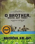 Bratříčku, kde jsi? [Blu-ray] - steelbook (O Brother, Where Art Thou?)