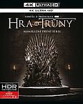 Hra o trůny: Sezóna 1 4x(UHD) [Blu-ray] (Game of Thrones: Season 1) - Mastered in 4K