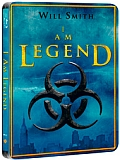 Já, legenda [Blu-ray] (I Am Legend) - steelbook