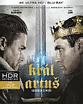 Král Artuš: Legenda o meči (UHD+BD) 2x[Blu-ray] (King Arthur: Legend of the Sword) - Mastered in 4K