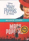Mary Poppins - kolekce (Mary Poppins+Mary Poppins se vrací) 3x[DVD] (Mary Poppins colection)