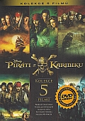 Piráti z Karibiku kolekce 1.-5. [5DVD] (Pirates of the Caribbean 1.-5.)