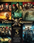 Piráti z Karibiku kolekce 1-5 5x[Blu-ray] (Pirates of the Caribbean collection)