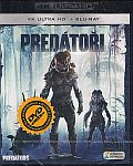 Predátoři (UHD+BD) 2x[Blu-ray] (Predators) - Mastered in 4K