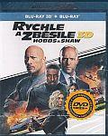Rychle a zběsile: Hobbs a Shaw 3D+2D 2x[Blu-ray] (Fast & Furious Presents: Hobbs & Shaw)