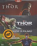 Thor kolekce 1-3 3D+2D 6x[Blu-ray] (Thor 3-movie pack)