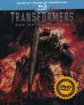 Transformers 4: Zánik 3x[Blu-ray] (3D+2D+bonus BD) - steelbook (Transformers: Age of Extinction)