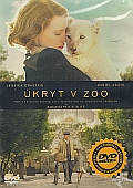 Úkryt v zoo [DVD] (Zookeeper's Wife)