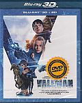 Valerian a město tisíce planet 3D+2D 2x[Blu-ray] (Valerian and the City of a Thousand Planets)