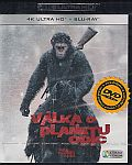 Válka o planetu opic (UHD+BD) 2x[Blu-ray] (War for the Planet of the Apes)