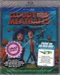 Zataženo, občas trakaře 3D [Blu-ray] (Cloudy with a Chance of Meatballs)