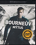Bournův mýtus (UHD+BD) 2x[Blu-ray] (Bourne Supremacy) - Mastered in 4K